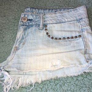 Jean shorts from American Eagle